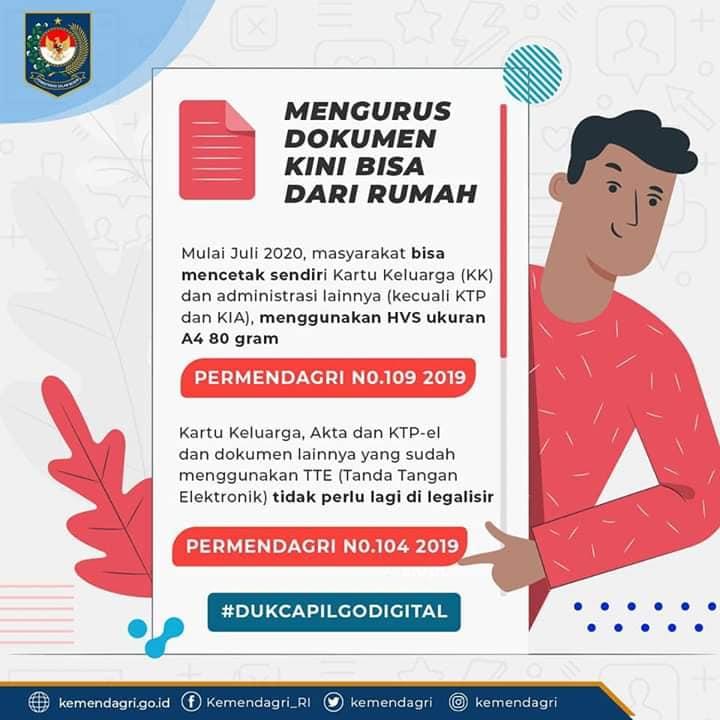 Mengurus Dokumen Dari Rumah
